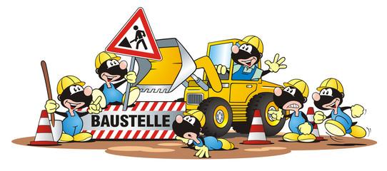 Construction Scene Moles