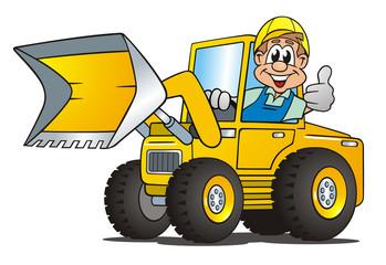 Excavator Worker