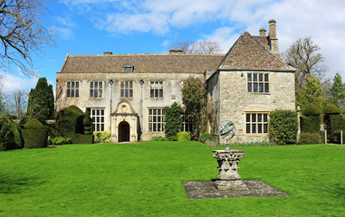 An English Stateley Home and garden
