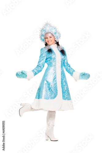 Как можно сделать костюм снегурочки в домашних условиях