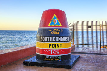 Florida Buoy sign