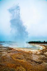 Strokkur geyser.