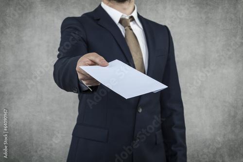 portrait of a briber