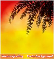 Hintergrund Sommerabend