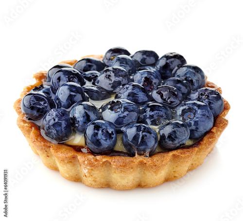 Papiers peints Confiserie Blueberry tart