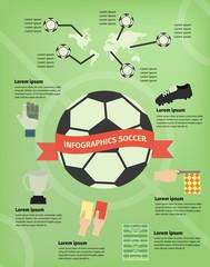 Infographics soccer
