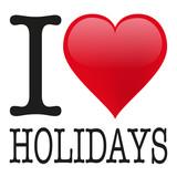 I love Holidays