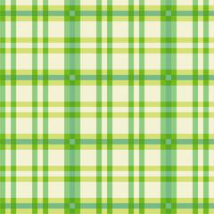 Tuch mit grünen Muster