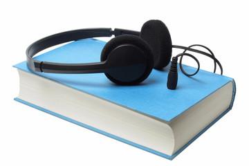 Headphones on audiobook