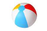 Isolated beach ball