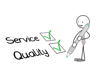 STICKMAN TICKING SERVICE & QUALITY CHECKBOXES (survey consumer)