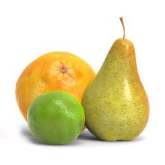 Pear Orange And Lemon
