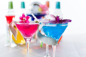Molecular mixology - Cocktail with caviar