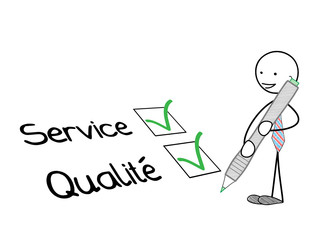 """Bonhomme Cochant  """"SERVICE"""" et  """"QUALITE"""" (satisfaction client)"""