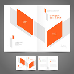 design brochure template folder leaflet