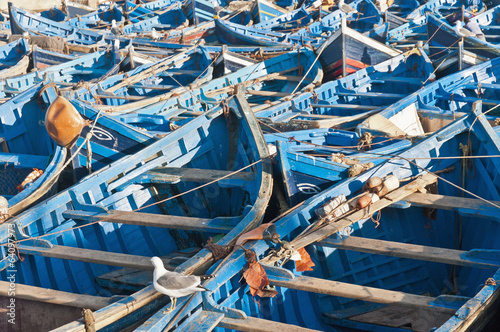 Seaport of Essaouira, Morocco