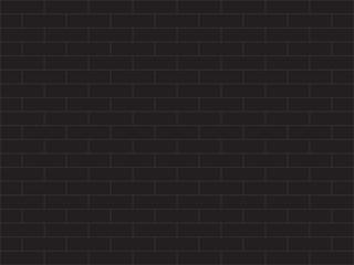 Black brick wall simple background