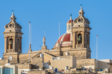 Basilica of Senglea in Malta.
