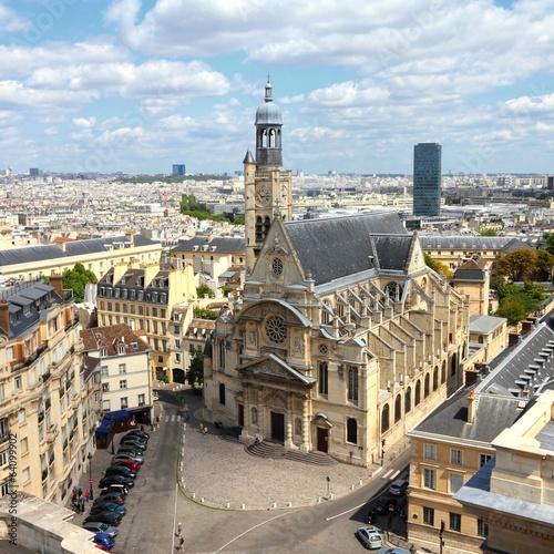 Paris, France cityscape