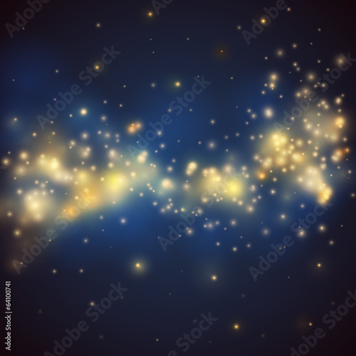 Bokeh vector background -