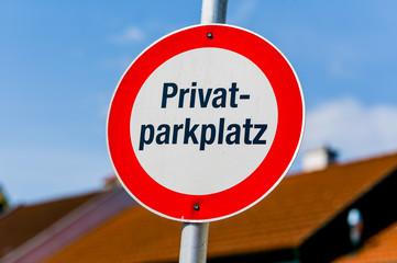 Privatparkplatz