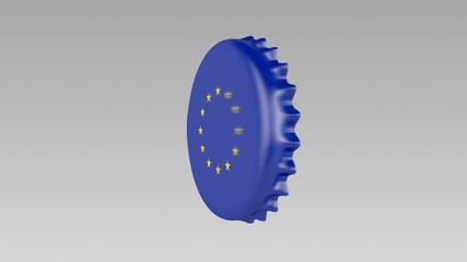 Bottle Cap European Union