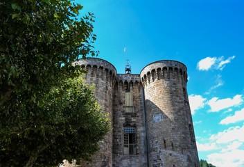 Château de Largentière en Ardèche.