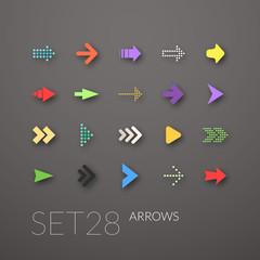 Flat icons set 28