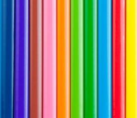 colorful pencils for background or texture