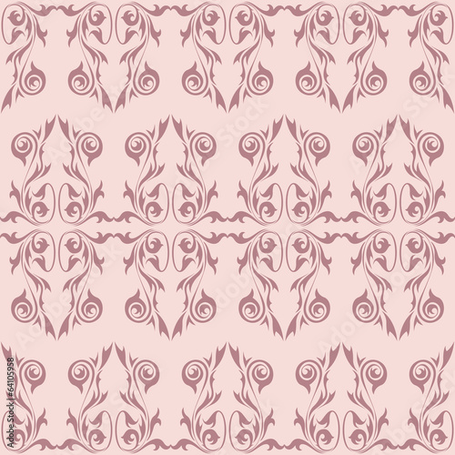 Vintage wallpaper background in pastel colors