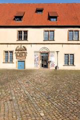 Eingang Weser-Renaissance Museum Brakel, Lemgo