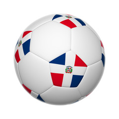 Dominican Republic soccer ball