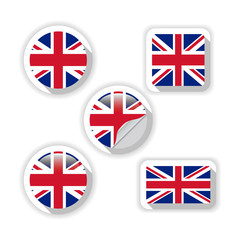Flags of British.