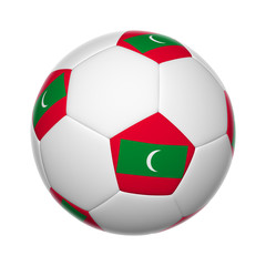 Maldivian soccer ball