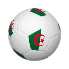 Algerian soccer ball