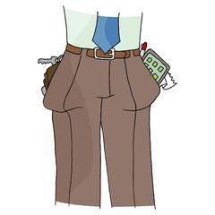 Full Pant Pockets