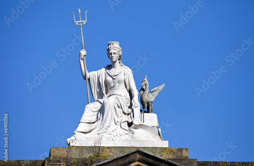 Spirit of Liverpool Statue on the Walker Art Gallery Building