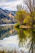 San Saturio built in the mountainside in Soria