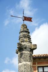 Calatanazor medieval pillory