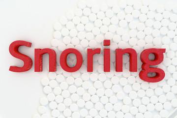 Snoring - 3d Rendering