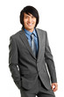 Handsome Chinese young businessman portrait
