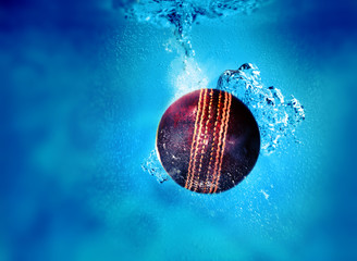 sinking cricket ball