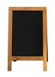 wooden blackboard sandwich Board - 64113928