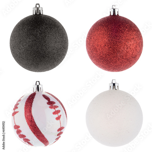Christmas ball decorations