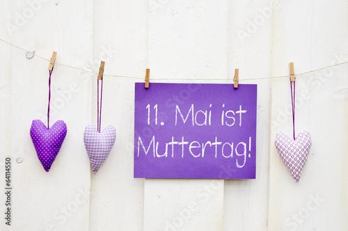 11.Mai ist Muttertag