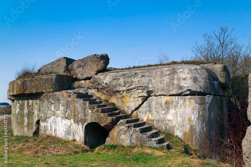 First World War Bunker, Osowiec Fortress, Poland