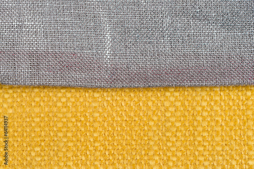 Yellow fabric
