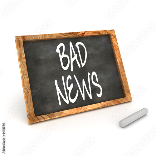 Blackboard Bad News