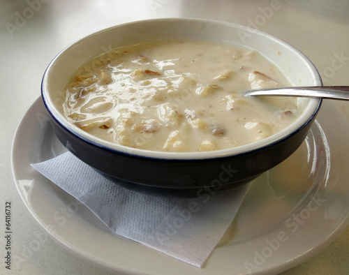 Cream of Potato and Bacon Soup