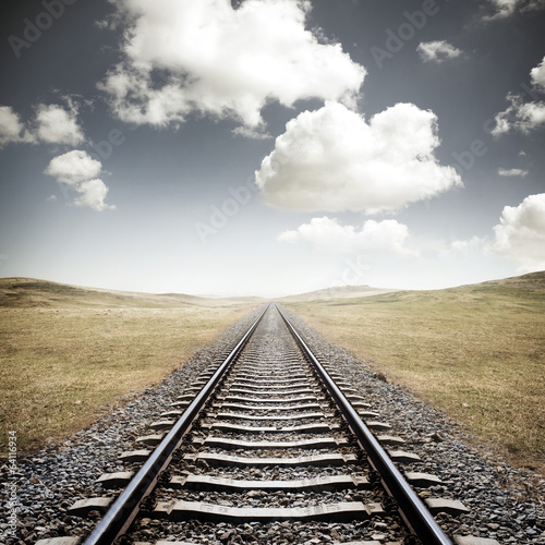 Railway Tracks - 64116934